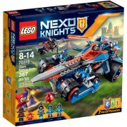Lego 70315 Nexo Knights – Espada  Estrondosa do Clay – 367 pç
