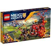 Lego 70316 Nexo Knights – O Terrível Carro  do Jestro  - 658 pç