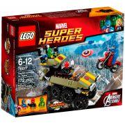 Lego 76017 Super Heroes Capitão America Contra Hydra