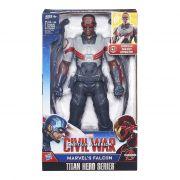 Capitão America Guerra Civil Falcão Negro eletronicoHasbro