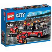 LEGO 60084 - City - Transportador de Motocicletas de Corrida