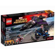 Lego 76047 Vingadores Guerra Civil Perseguição do Pantera Negra
