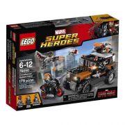 Lego 76050 Vingadores Guerra Civil Assalto Ossos Cruzados