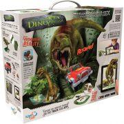 Dino Mundi Fúria T- Rex  Com App - 120 peças - Fun