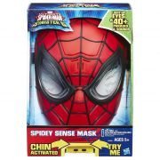 Mascara Eletronica Spiderman Sinister - Luz e 40 Sons Portugues– Hasbro