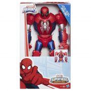 Playskool  Heroes  Spiderman  mega armadura 30 cm - hasbro