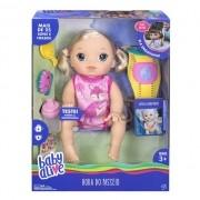 Boneca Baby Alive Hora do Passeio Engatinha Loira - Hasbro