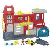Playskool Transformers Rescue Bots Quartel Bombeiros Hasbro