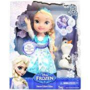 Disney Frozen Elsa Neve Brilhante Luxo Cantora 37cm - Sunny