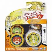 Blazing Team Ioiô Echostrike Dourado  C/ Luz E Som - Hasbro