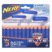 Refil com 12 dardos Sucção Nerf N Strike Elite -Original- Hasbro