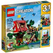 Lego 31053 – Creator 3 em 1 – Aventuras na Casa da Arvore -387 pç