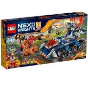 Lego 70322 – Knights –  Transportador de Torre de AXL – 670 pç