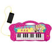 Barbie Teclado Fabuloso Com Função MP3 Player - Fun
