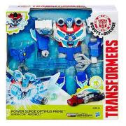 Transformers Power Surge Optimus Prime 30cm som e luz Hasbro