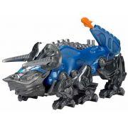 Power Rangers O Filme – Triceratops Zord Batalha + Ranger Azul –Bandai