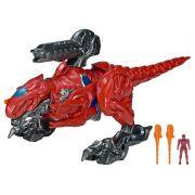 Power Rangers O Filme – T- Rex Luxo 50 cm + Ranger Red – Sunny