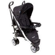 Carrinho Bebê Umbrella Deluxe Alumínio 3 Rodas Preto - Cosco