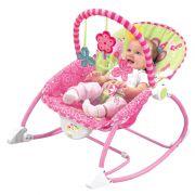 Cadeira Musical Vibratória Descanso C/ Móbile e Balanço Princesas – Baby Style