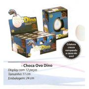 Choca Ovo Dino - Display Com 12 Unidades