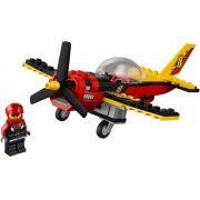 Lego 60144 - City - Avião de Corrida - 89 peças