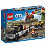 Lego 60148 - City - Equipe de Corrida de Veículos  Off-Road - 239 pç