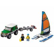 Lego 60149 - City – Jipe 4x4 com Catamarã  - 198 Peças