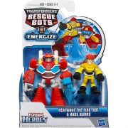 Playskool Transformers  Rescue Bots Heatwave & Kade - Hasbro
