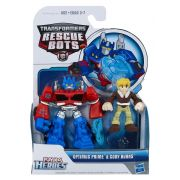 Playskool Transformers  Rescue Bots Optimus Prime & Cody - Hasbro