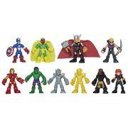 Playskool  Heroes Super Set  Vingadores Conjunto 10 Bonecos - Hasbro