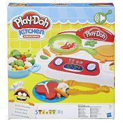 Massinha Play Doh Comidinhas no Fogão com som  - Hasbro