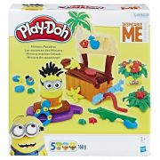 Massinha Play Doh Play Set Férias Paraiso dos Minions  - Hasbro