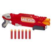 Nerf Strike Mega Doublebreach -  com tubo dulpo - Hasbro