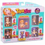 Twozies Blister C/ 12 Towzies Surpresas 6 Bebes + 6 Pets Dtc