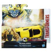 Transformers Filme 5 TurboChanger Bumblebee  10 cm  1 passo - Hasbro