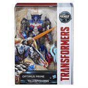 Transformers Filme 5 Voyager Luxo  Optimus Prime  17 cm  - Hasbro