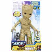 Boneco Guardioes Galaxia - Baby Groot Dancarino C/ Luz E Som Hasbro