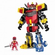 Mega Construx Power Rangers - Poderoso Megazord Tranformável Mattel