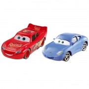 Carros 3 Disney - Die Cast  Pack C 2 Veículos - McQueen e Sally – Mattel