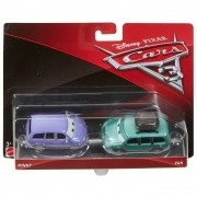 Carros 3 Disney - Die Cast  Pack C 2 Veículos - Minny e Van – Mattel