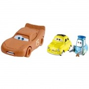 Carros 3 Disney - Die Cast  Pack C 3 Veículos - McQueen , Luigi e Guido – Mattel