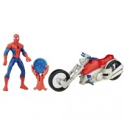 Spiderman Ultimate Sinister6  Moto + boneco  - Hasbro