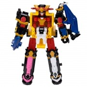 Power Rangers Ninja Steel - MegaZord DX Steel 30cm - 5 zords – Sunny