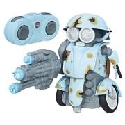 Transformers 5 Controle Remoto Robo Autobot Sqweeks C/ luz e Som - Hasbro