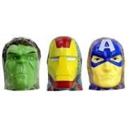 Ovo Surpresa Head Marvel - Vingadores - Dtc C/ 18 Unidades