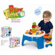 Play Time Mesa De Atividades - 21 Cm  - Cotiplas