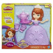 Play Doh - Disney Festa Do Chá Princesas Sofia - Hasbro