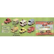 Coleção Carrinhos - Mini Rodas - Caixa C/ 12 Cartelas - Dtc