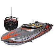 Barco  Com Controle Remoto Aqua Deluxe Ate 25km/h - Dtc