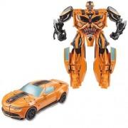 Boneco Transformers Bumblebee Mega Um Passo A7799 - Hasbro